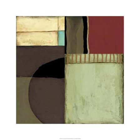 Loft Abstract II by Jennifer Goldberger art print