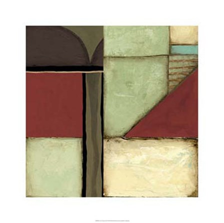 Loft Abstract III by Jennifer Goldberger art print