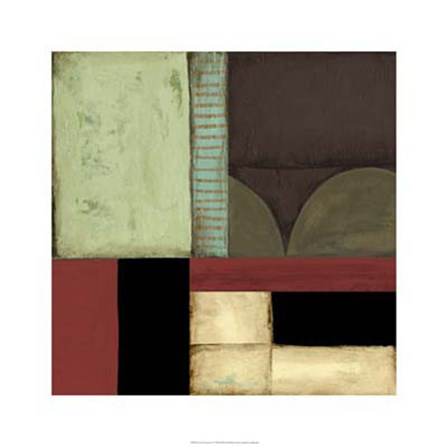 Loft Abstract IV by Jennifer Goldberger art print