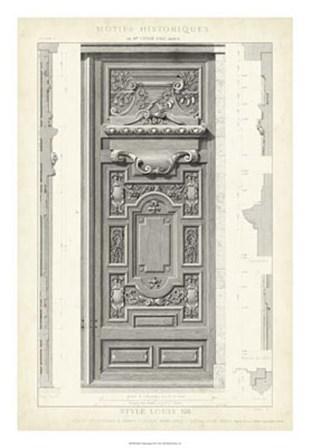 Motifs Historiques III art print