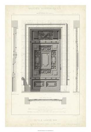Motifs Historiques IV art print