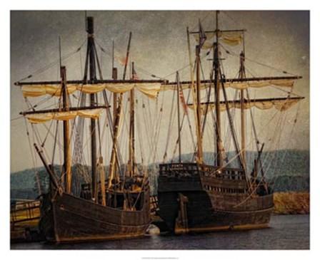 Tall Ships by Danny Head art print