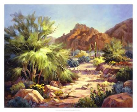 Desert Beauty by Maxine Johnston art print
