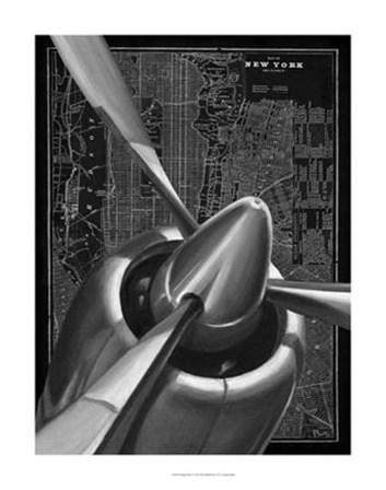 Vintage Plane I by Ethan Harper art print