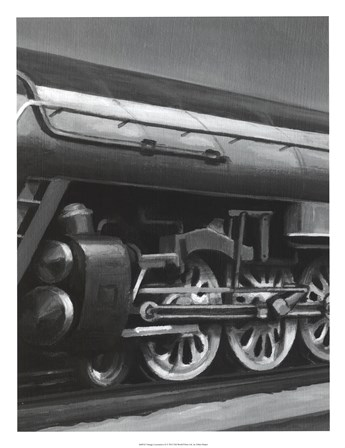 Vintage Locomotive II by Ethan Harper art print