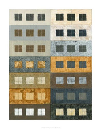 Urban Grid II by Kate Archie art print