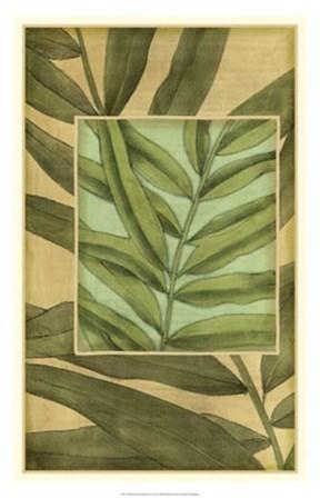 Palm Inset Composition I by Jennifer Goldberger art print