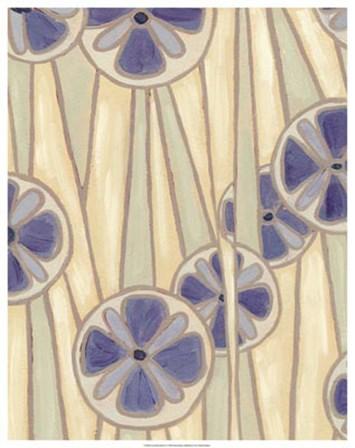 Lavender Reeds II by Karen Deans art print