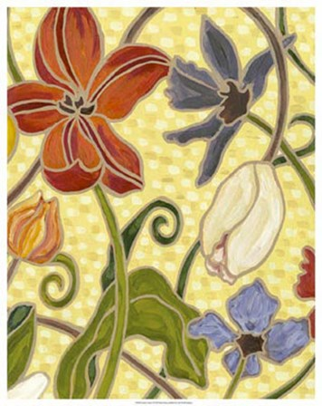 Sunny Garden I by Karen Deans art print
