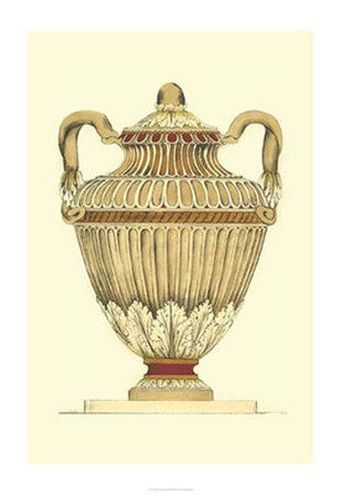 Neutral Urn Sketch I by Jennifer Goldberger art print