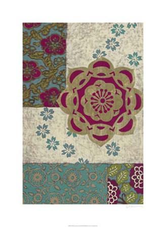 Batik Ornament I by Chariklia Zarris art print