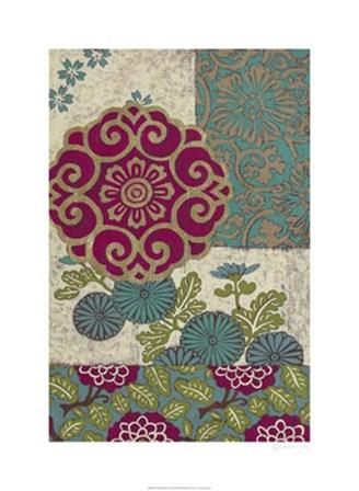 Batik Ornament II by Chariklia Zarris art print