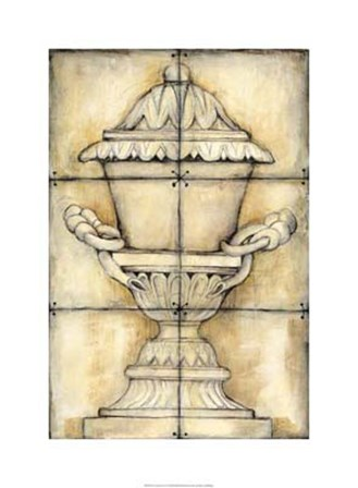 Ceramic Urn I by Jennifer Goldberger art print