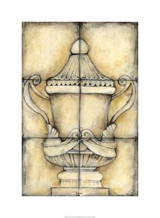 Ceramic Urn II by Jennifer Goldberger art print