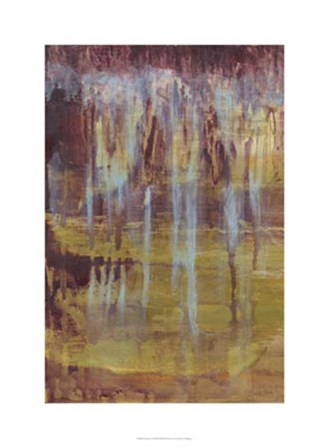 Stalactites I by Jennifer Goldberger art print