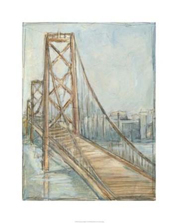 Metropolitan Bridge I by Ethan Harper art print