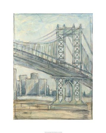 Metropolitan Bridge II by Ethan Harper art print