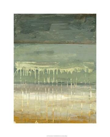 Marine Abstract I by Jennifer Goldberger art print