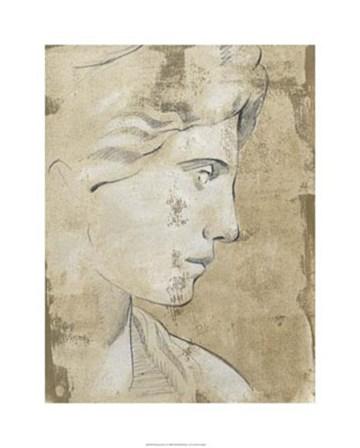 Roman Fresco I by Ethan Harper art print