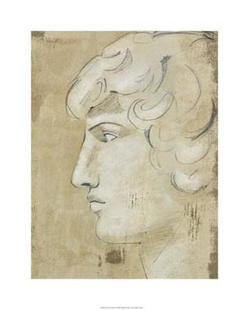 Roman Fresco II by Ethan Harper art print