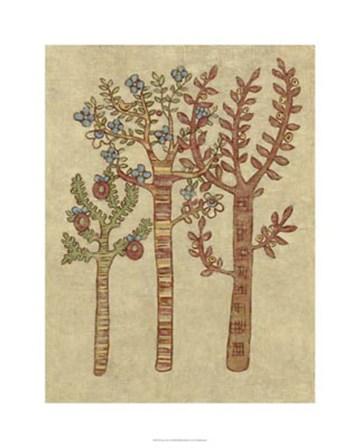 Linen Trees I by Chariklia Zarris art print