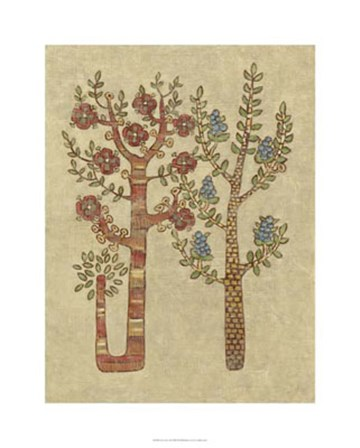 Linen Trees II by Chariklia Zarris art print