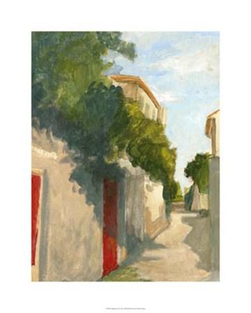 Village Street II by Ethan Harper art print