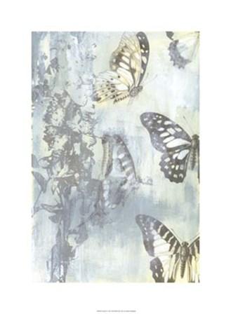 Flutter II by Jennifer Goldberger art print