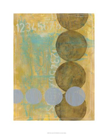 Circles in Circles I by Jennifer Goldberger art print