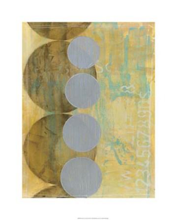 Circles in Circles II by Jennifer Goldberger art print