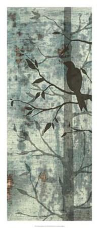 Whimsical Silhouette II by Jennifer Goldberger art print