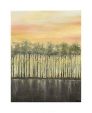 Dusk in Summer by Jennifer Goldberger art print
