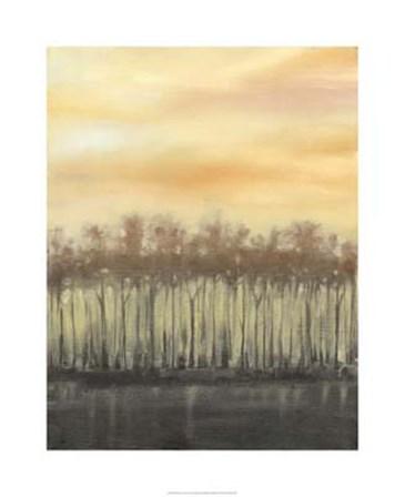 Dusk in Autumn by Jennifer Goldberger art print