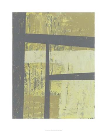 Zest Abstract I by Jennifer Goldberger art print