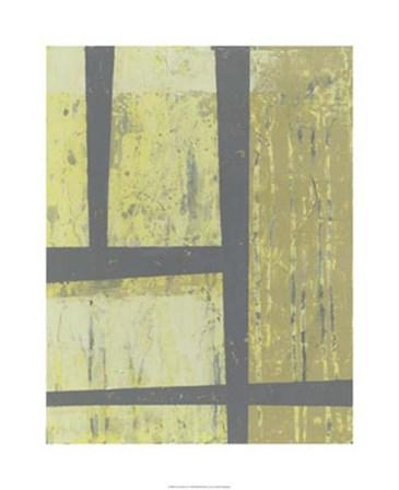 Zest Abstract II by Jennifer Goldberger art print