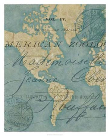 World Travels I by Chariklia Zarris art print