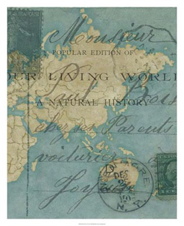 World Travels II by Chariklia Zarris art print
