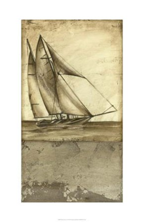 Shimmering Seas I by Ethan Harper art print