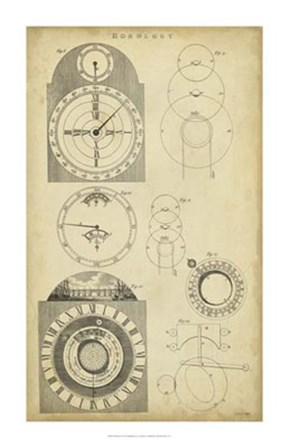 Clockworks I by C.E. Chambers art print