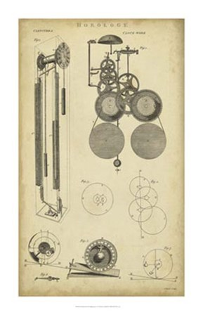 Clockworks II by C.E. Chambers art print