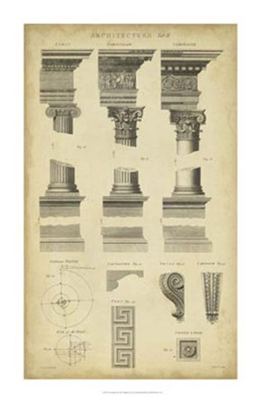 Encyclopediae III by C.E. Chambers art print