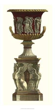 Vase on Pedestal I by Giovanni Battista Piranesi art print