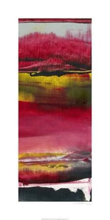 Magenta Solstice II by Sharon Gordon art print