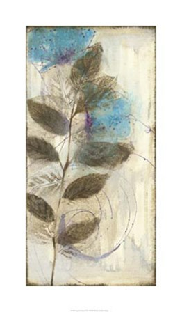 Constellation Flowers I by Jennifer Goldberger art print
