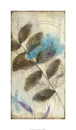 Constellation Flowers III by Jennifer Goldberger art print
