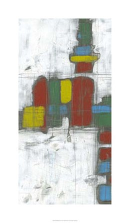Building Blocks I by Jennifer Goldberger art print