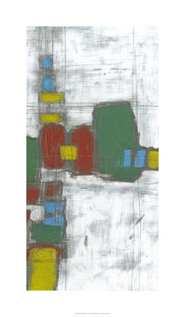 Building Blocks II by Jennifer Goldberger art print
