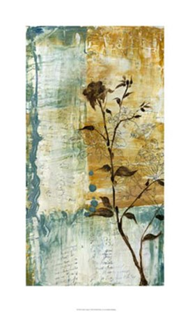Swallow Song I by Jennifer Goldberger art print