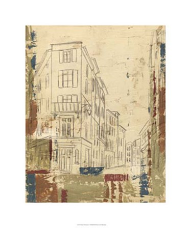 Streets of Downtown I by Ethan Harper art print