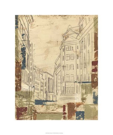 Streets of Downtown II by Ethan Harper art print